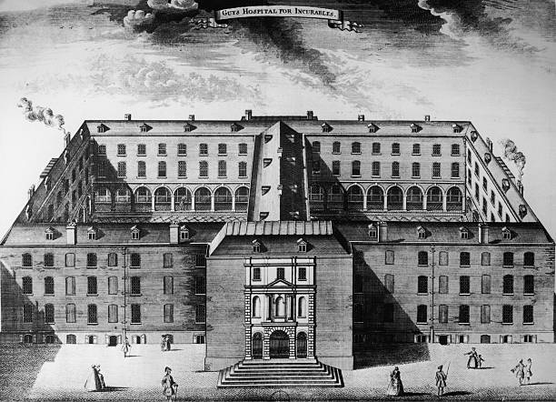'Guy's Hospital for Incurables' in London, 1725. It...