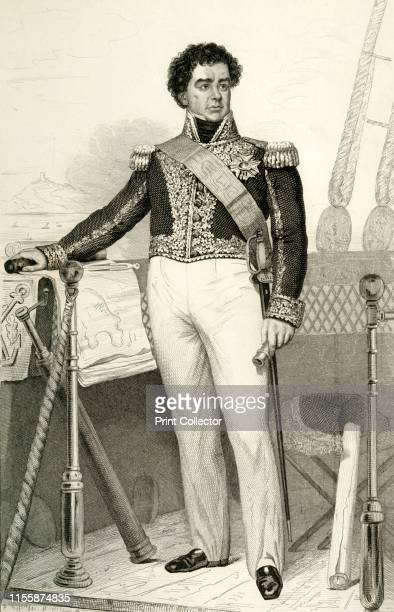 Guy-Victor Duperré . 'Duperré' , Amiral de France'. Portrait of Guy-Victor Duperré , French admiral who commanded naval forces in the Mauritius...