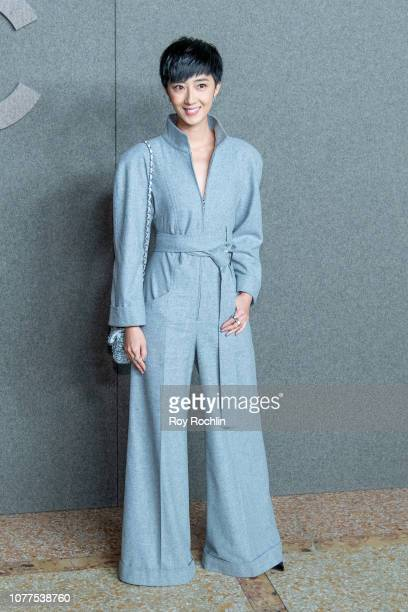 Gwei Lun Mei attends the Chanel Metiers D'Art 2018/19 Show at The Metropolitan Museum of Art on December 04 2018 in New York City