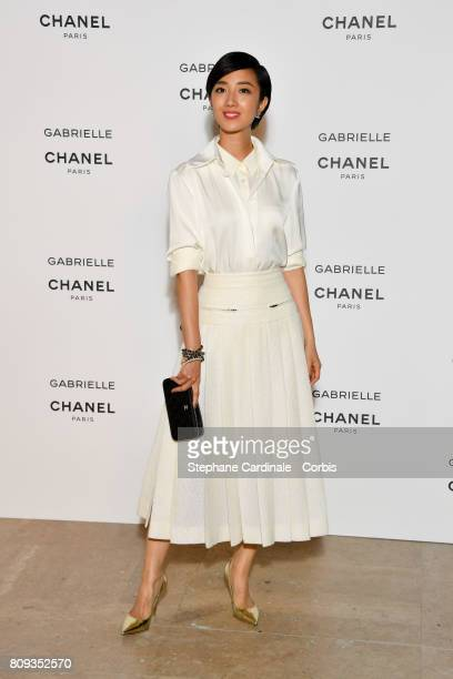 Gwei Lun Mei attends the launching Party of Chanel's new perfume 'Gabrielle' as part of Paris Fashion Week on July 4 2017 in Paris France