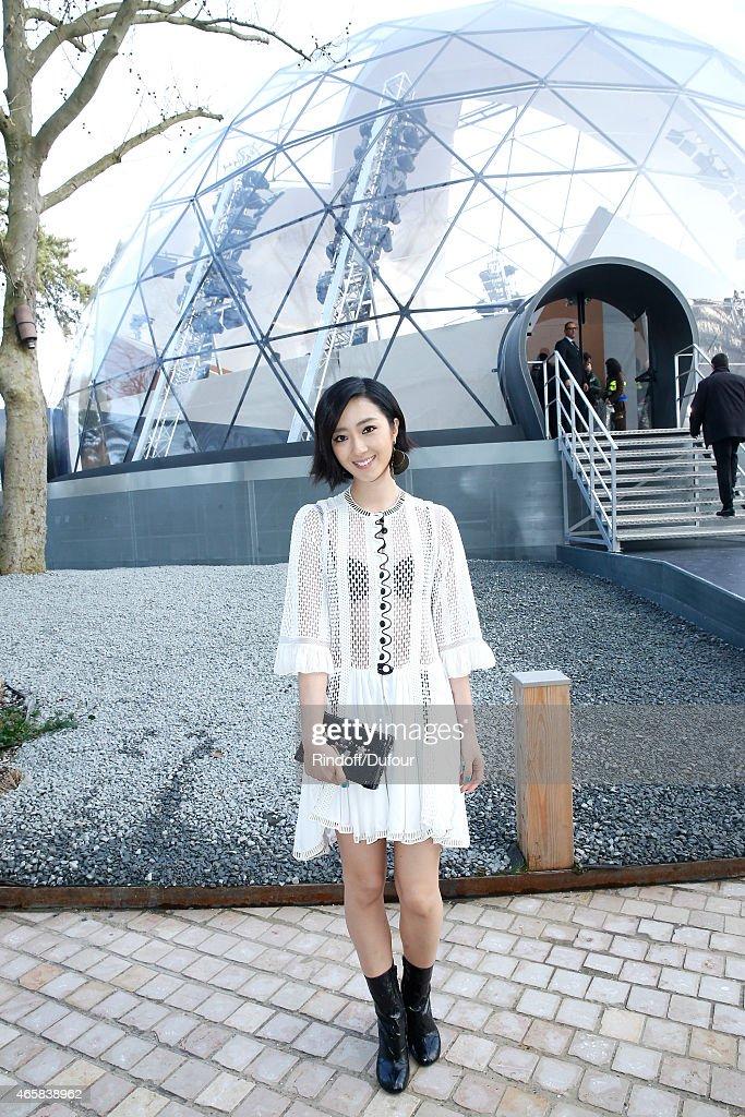 Louis Vuitton  : Outside Arrivals  - Paris Fashion Week Womenswear Fall/Winter 2015/2016