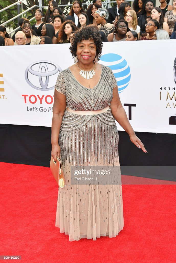Gwen Carr at the 49th NAACP Image Awards on January 15, 2018 in Pasadena, California.