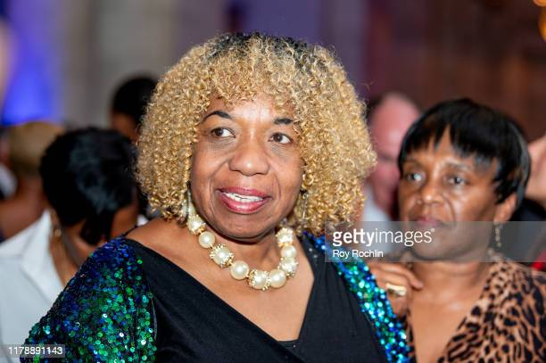 Gwen Carr attends Rev Al Sharpton's 65th Birthday Celebration at New York Public Library Stephen A Schwartzman Building on October 03 2019 in New...