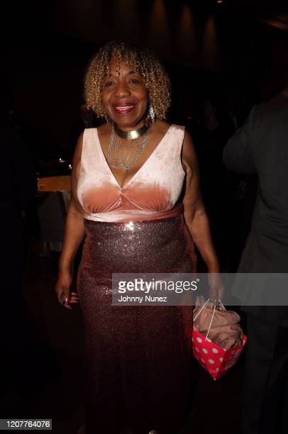 Gwen Carr attends the 40th Annual One Hundred Black Men INC Of New York City Benefit Gala at Sheraton New York on February 20 2020 in New York City