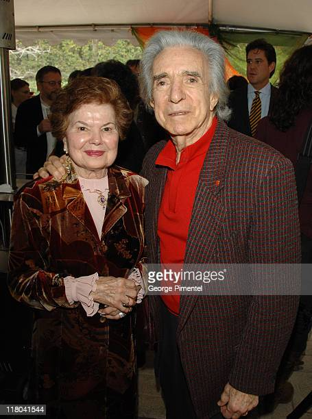 Gwen Hiller and Arthur Hiller during The Canadian Consulate Honors the 79th Annual Academy Award Nominees at Canadian Residence in Hancock Park,...