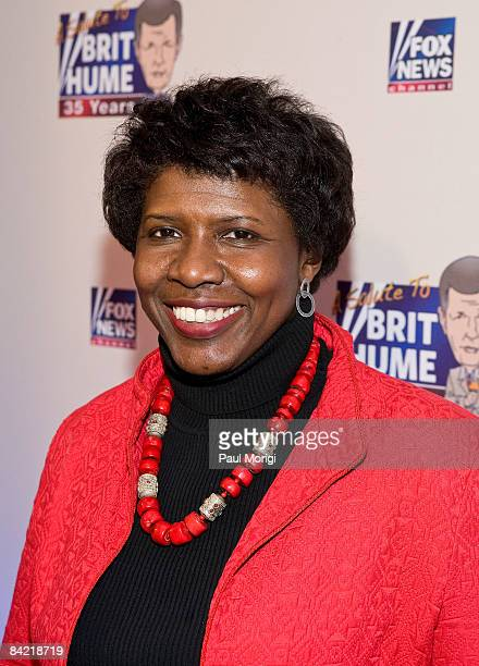 Gwen Ifill attends salute to Brit Hume at Cafe Milano on January 8, 2009 in Washington, DC.