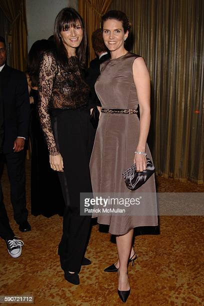 Gwen McCaw and Colleen Bell attend Saks Fifth Avenue's Unforgettable Evening Gala with Lance Armstrong being honored by EIF's Women's Cancer Research...