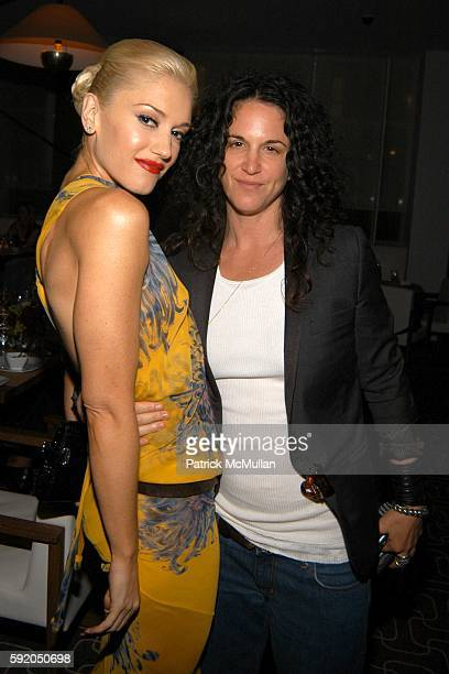 Gwen Stefani and Amanda ScheerDemme attend Gwen Stefani Dinner for LAMB at Perry Street on September 13 2005 in New York City