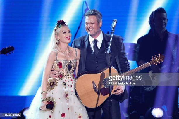 Gwen Stefani and Blake Shelton perform at THE 62ND ANNUAL GRAMMY® AWARDS, broadcast live from the STAPLES Center in Los Angeles, Sunday, January 26,...