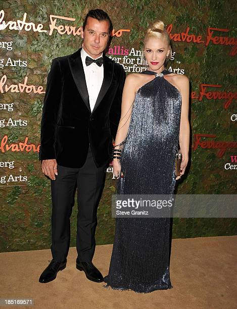 Gwen Stefani and Gavin Rossdale arrives at the Wallis Annenberg Center For The Performing Arts Inaugural Gala at Wallis Annenberg Center for the...