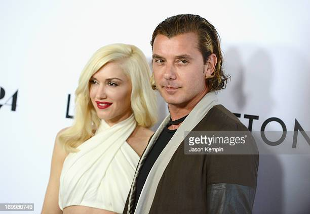 Gwen Stefani and Gavin Rossdale attend the premiere of A24's The Bling Ring at Directors Guild Of America on June 4 2013 in Los Angeles California