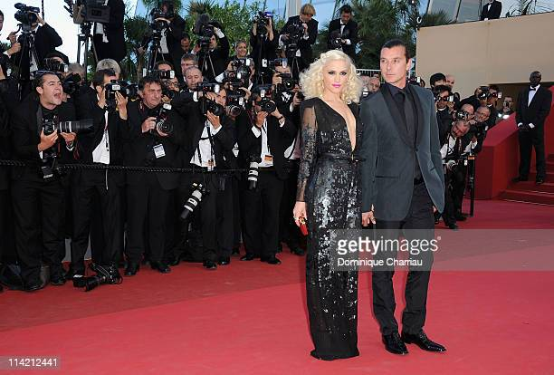 "Gwen Stefani and Gavin Rossdale attend ""The Tree Of Life"" Premiere during the 64th Annual Cannes Film Festival at Palais des Festivals on May 16,..."