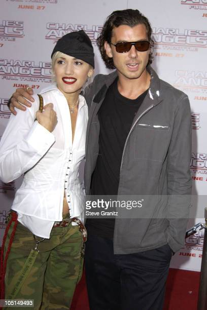 """Gwen Stefani and Gavin Rossdale during """"Charlie's Angels 2 - Full Throttle"""" Premiere at Mann's Chinese Theater in Hollywood, California, United..."""