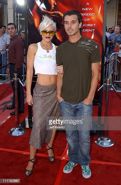 Gwen Stefani and Gavin Rossdale during 'XXX' Los Angeles Premiere in Westwood California United States