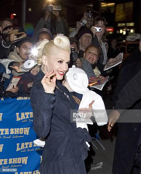 Gwen Stefani and Kingston James McGregor Rossdale