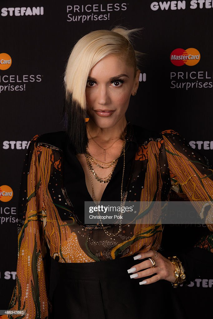 Gwen Stefani And MasterCard Announce An Exclusive Performance In New York City : News Photo