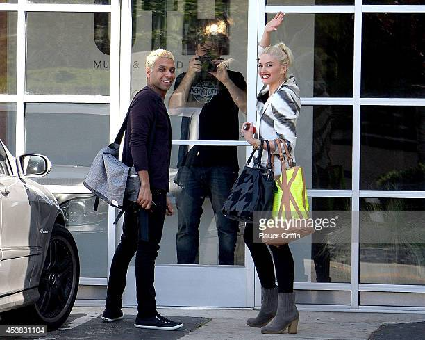 Gwen Stefani and Tony Kanal are seen on March 08, 2012 in Los Angeles, California.