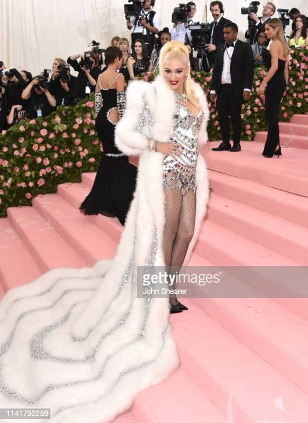 Gwen Stefani arrives at the 2019 Met Gala Celebrating Camp Notes On Fashion at The Metropolitan Museum of Art on May 6 2019 in New York City
