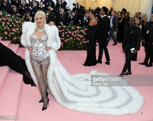 Gwen Stefani arrives for the 2019 Met Gala celebrating Camp: Notes on Fashion at The Metropolitan Museum of Art on May 06, 2019 in New York City.