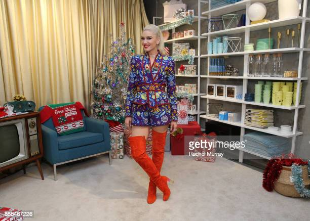 Gwen Stefani at Domino Outpost at Fred Segal on December 7 2017 in Los Angeles California