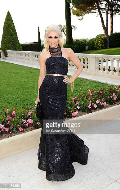 Gwen Stefani attends amfAR's Cinema Against AIDS Gala with L'Oreal during the 64th Annual Cannes Film Festival at Hotel Du Cap on May 19, 2011 in...