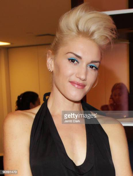 Gwen Stefani attends Bloomingdale's celebration for Fashion's Night Out at Bloomingdale's 59th Street Store on September 10 2009 in New York City