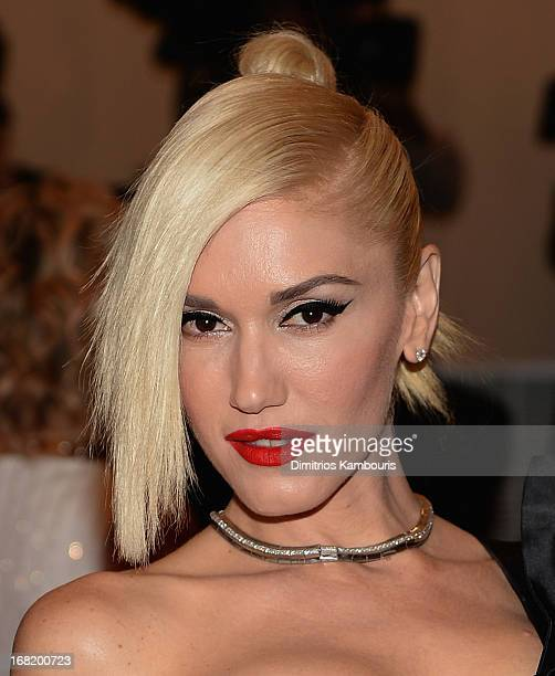 Gwen Stefani attends the 2013 Costume Institute Gala PUNK Chaos to Couture at Metropolitan Museum of Art on May 6 2013 in New York City