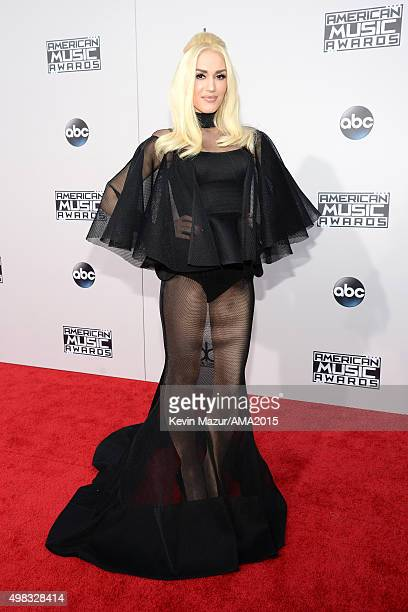 Gwen Stefani attends the 2015 American Music Awards at Microsoft Theater on November 22 2015 in Los Angeles California