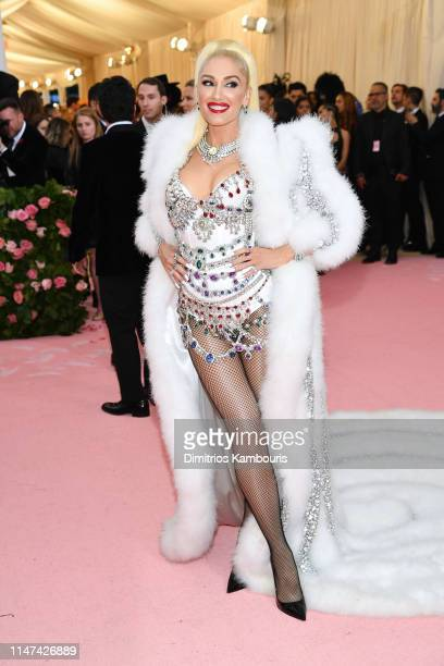 Gwen Stefani attends The 2019 Met Gala Celebrating Camp Notes on Fashion at Metropolitan Museum of Art on May 06 2019 in New York City