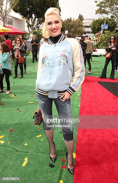 Gwen Stefani attends the after party for the premiere Of Sony Pictures' Angry Birds on May 7 2016 in Westwood California