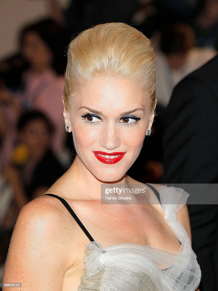 Gwen Stefani attends the Costume Institute Gala Benefit to celebrate the opening of the 'American Woman: Fashioning a National Identity' exhibition at The Metropolitan Museum of Art on May 3, 2010 in New York City.