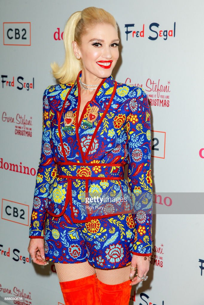 Domino x Fred Segal And CB2 Pop Up With Gwen Stefani - Arrivals : News Photo