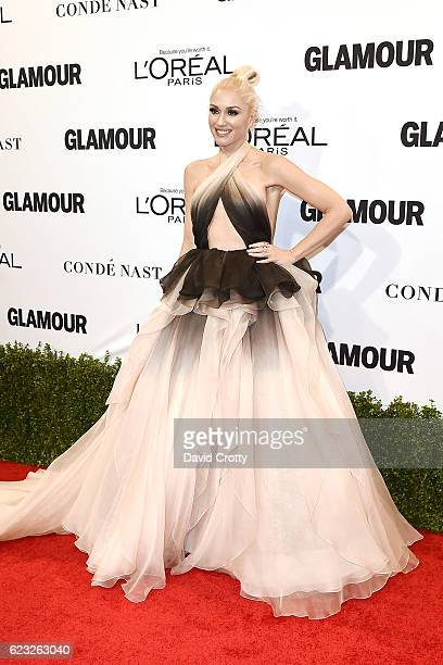 Gwen Stefani attends the Glamour Celebrates 2016 Women Of The Year Awards Arrivals at NeueHouse Hollywood on November 14 2016 in Los Angeles...