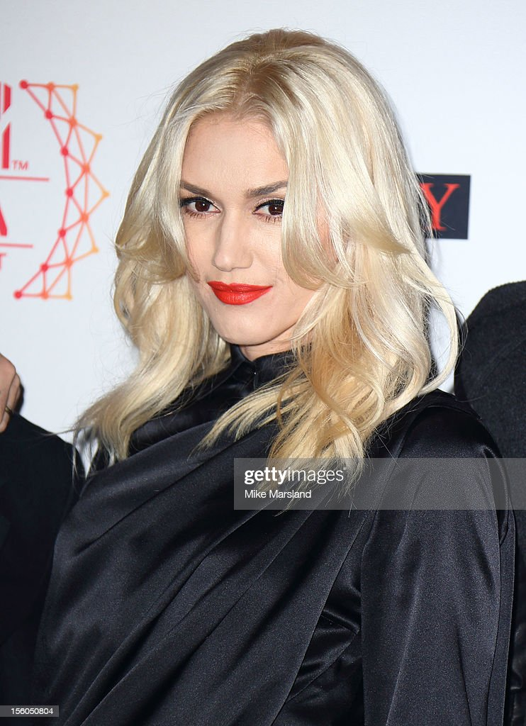 Gwen Stefani attends the MTV EMA's 2012 at Festhalle Frankfurt on November 11, 2012 in Frankfurt am Main, Germany.