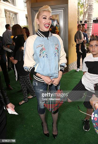 Gwen Stefani attends the premiere Of Sony Pictures' Angry Birds at Regency Village Theatre on May 7 2016 in Westwood California