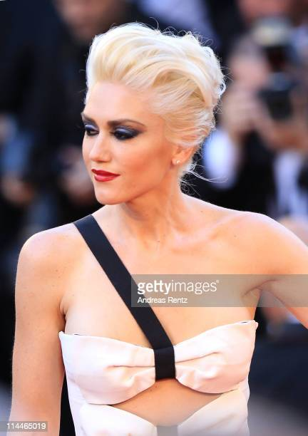 Gwen Stefani attends the 'This Must Be The Place' premiere during the 64th Annual Cannes Film Festival at Palais des Festivals on May 20 2011 in...