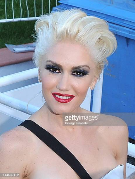 Gwen Stefani attends the 'This Must Be The Place' Premiere during the 64th Cannes Film Festival at the Palais des Festivals on May 20 2011 in Cannes...