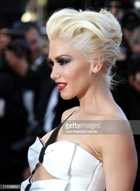 Gwen Stefani attends the 'This Must Be The Place' Premiere during the 64th Cannes Film Festival at Palais des Festivals on May 20 2011 in Cannes...