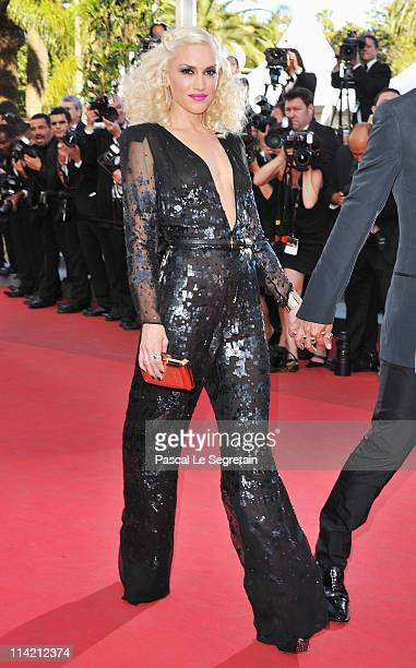 """Gwen Stefani attends """"The Tree Of Life"""" premiere during the 64th Annual Cannes Film Festival at Palais des Festivals on May 16, 2011 in Cannes,..."""