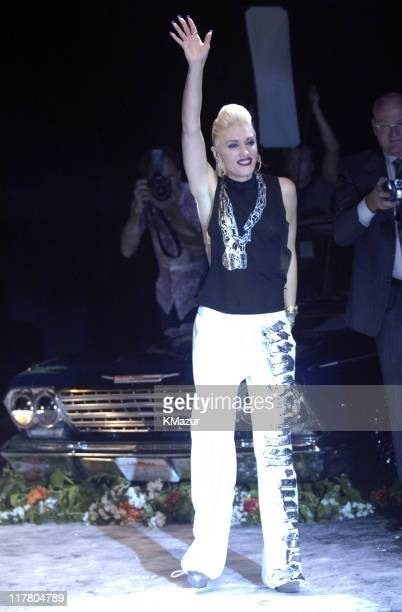 Gwen Stefani designer during Olympus Fashion Week Spring 2006 Gwen Stefani for LAMB Runway at Roseland in New York City New York United States