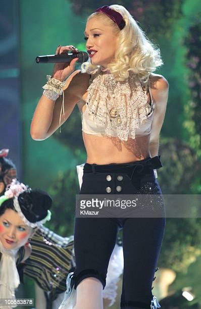 Gwen Stefani during 2004 Billboard Music Awards Show at MGM Grand Garden in Las Vegas Nevada United States