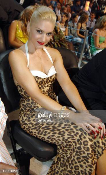 Gwen Stefani during 2005 MTV Video Music Awards Audience and Backstage at American Airlines Arena in Miami Florida United States