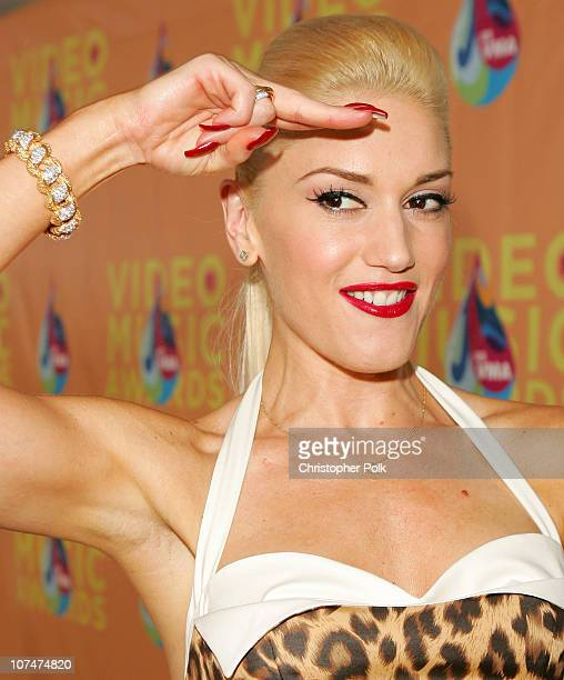 Gwen Stefani during 2005 MTV Video Music Awards White Carpet at American Airlines Arena in Miami Florida United States