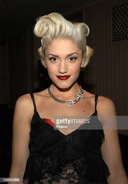 Gwen Stefani during The 18th Annual Rock and Roll Hall of Fame Induction Ceremony Inside at The Waldorf Astoria in New York City New York United...