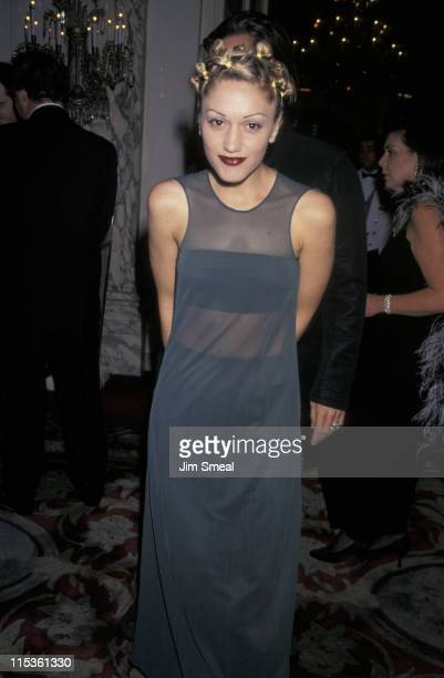 Gwen Stefani during The 40th Annual GRAMMY Awards Arista Records PreGRAMMY Party at Beverly Hills Hotel in New York City New York United States