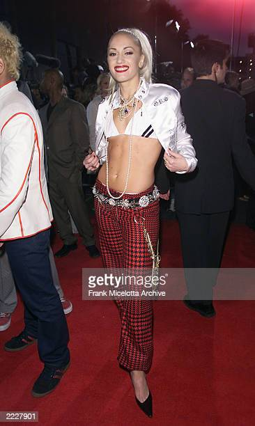 Gwen Stefani from No Doubt arrives for the 2001 Billboard Music Awards held at the MGM Grand Hotel & Casino in Las Vegas NV., Tuesday, Dec. 4, 2001.