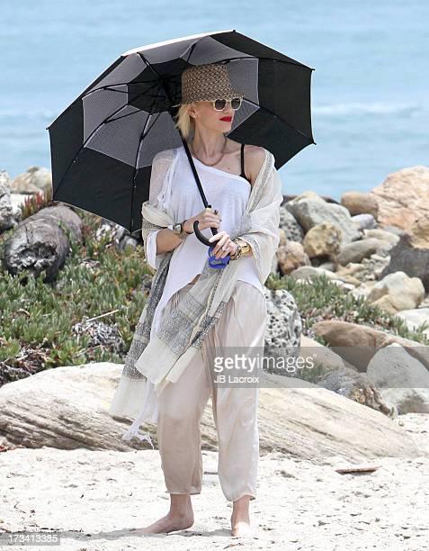 Gwen Stefani is seen in Malibu on July 13 2013 in Los Angeles California