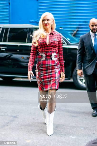 Gwen Stefani is seen in Midtown on September 23, 2019 in New York City.