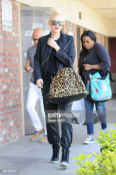 Gwen Stefani is seen on April 30 2014 in Los Angeles California