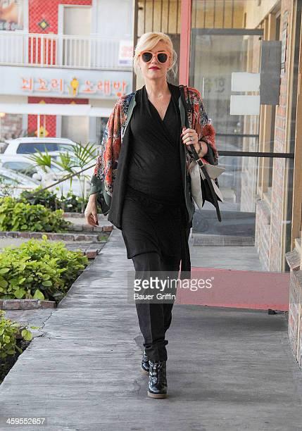 Gwen Stefani is seen on December 27 2013 in Los Angeles California